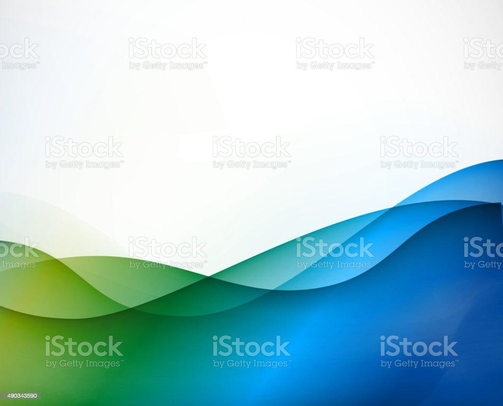 color ribbon pattern background vector art illustration