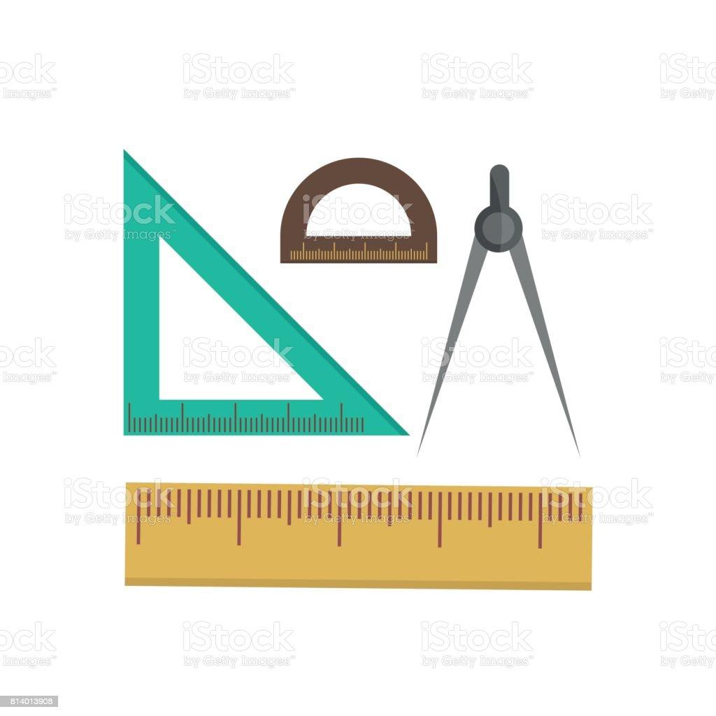 Color school measuring rulers in centimeters and inches vector set color school measuring rulers in centimeters and inches vector set royalty free stock vector art buycottarizona