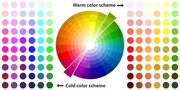 illustrazioni stock, clip art, cartoni animati e icone di tendenza di color spectrum - huế