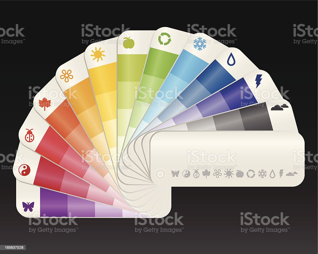 Color Swatch royalty-free stock vector art