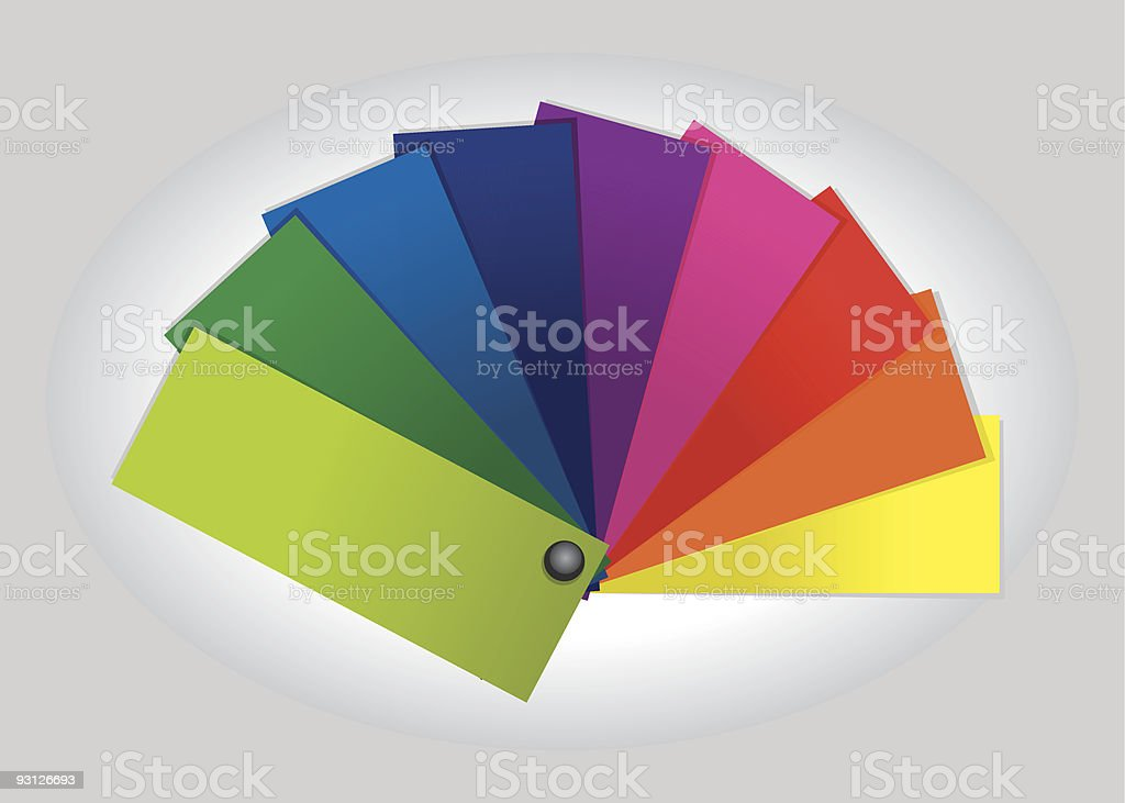 Color Swatch royalty-free color swatch stock vector art & more images of bright