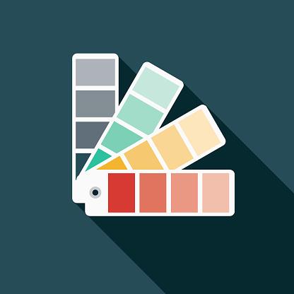 Color Swatches Graphic Design Icon Icon