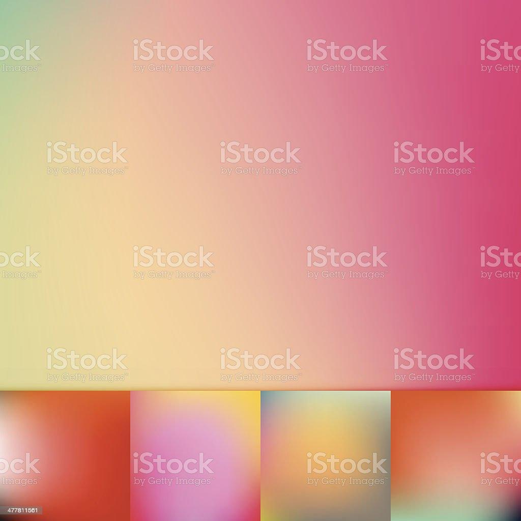 Color Trends Defocus Vibrant Colors Soft Vignette Vector Background ...