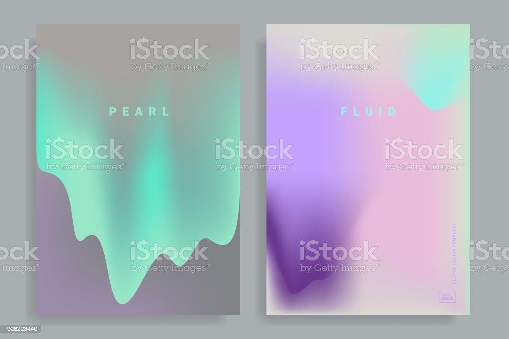 color vibrant gradient background vector art illustration