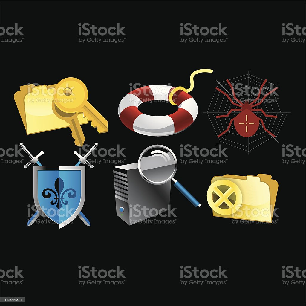 Color Virus Icons royalty-free color virus icons stock vector art & more images of cartoon