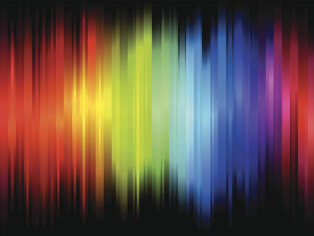 Color Wave vector art illustration