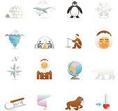 Color Web Icons - Arctic