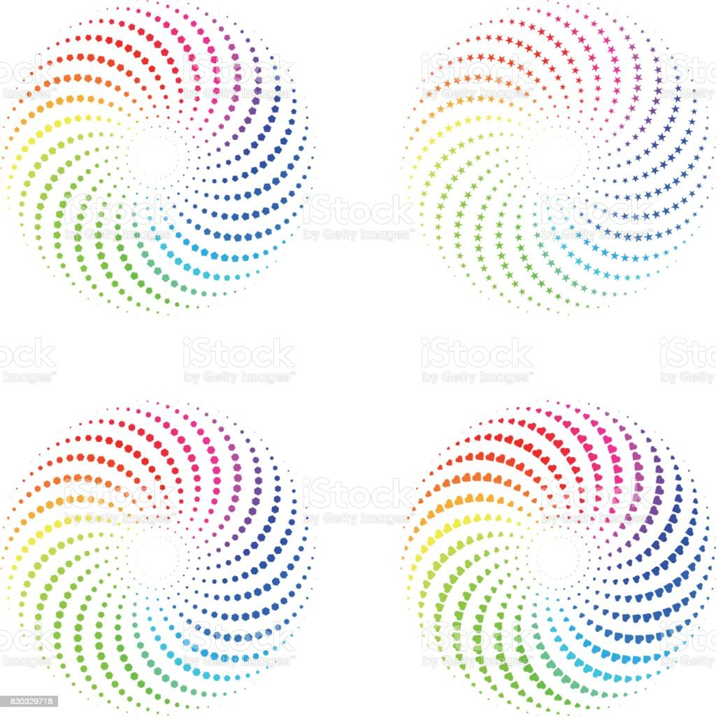 Color Wheel Stock Vector Art More Images Of Abstract 830329718