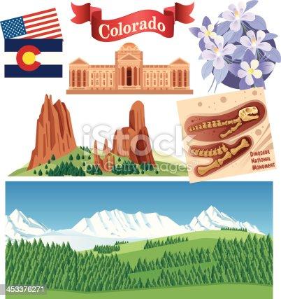 Vector Colorado Symbols