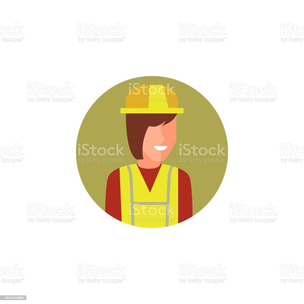 colored avatar of builder icon. Element of colored people profession...