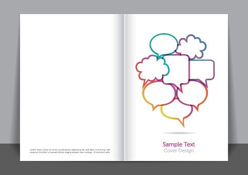 Colored Bubbles Cover design