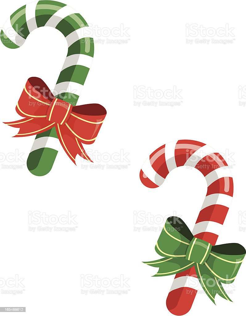 Colored Candy Canes royalty-free colored candy canes stock vector art & more images of candy