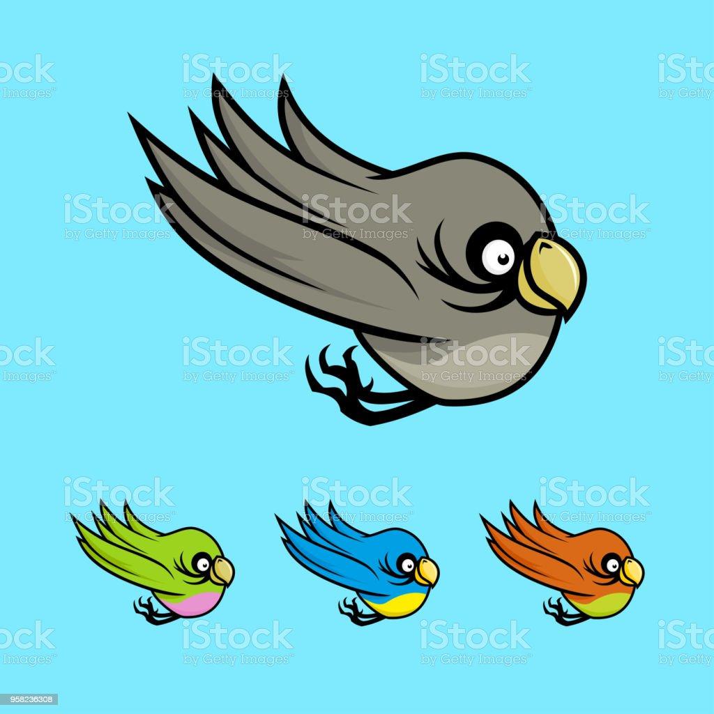 Burung Kartun Berwarna Ilustrasi Stok Unduh Gambar Sekarang Istock