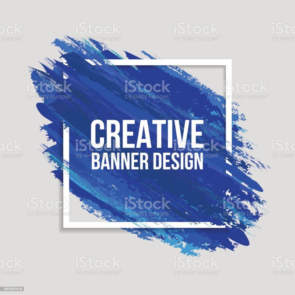 Color creativos Banners - ilustración de arte vectorial