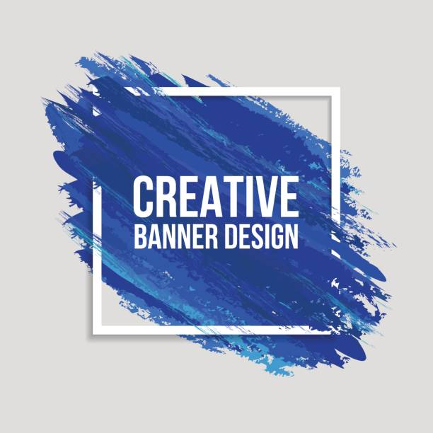 Colored Creative Banners vector art illustration