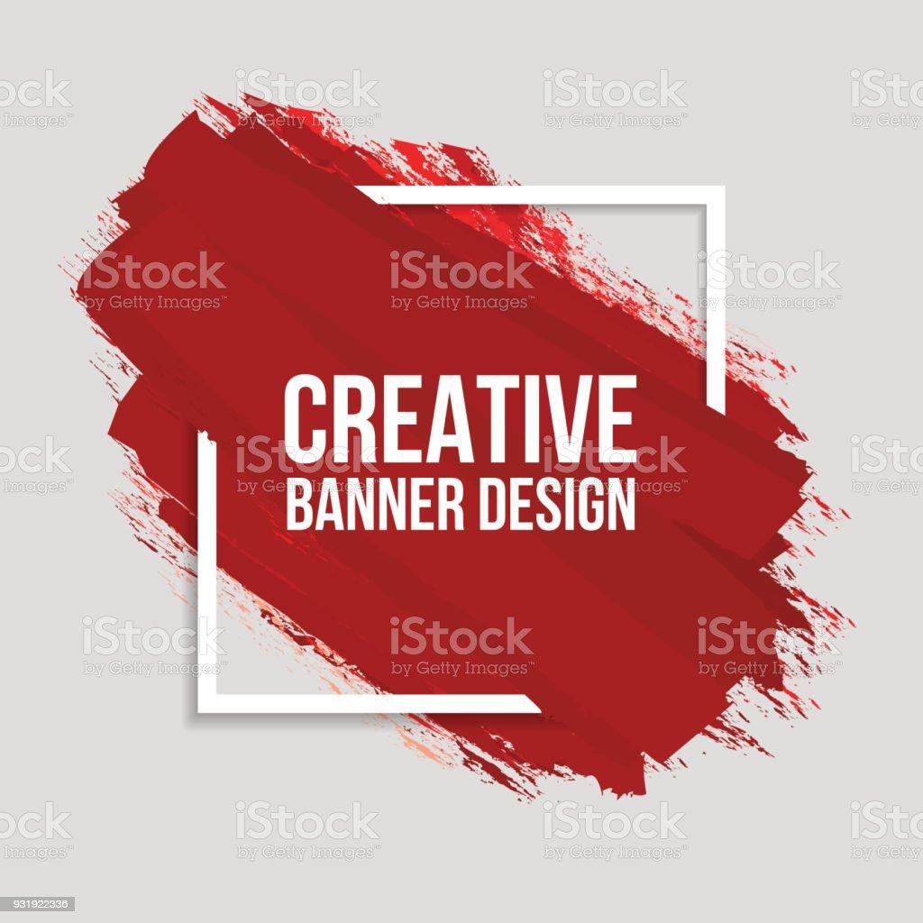 Bannières créatifs colorés - Illustration vectorielle
