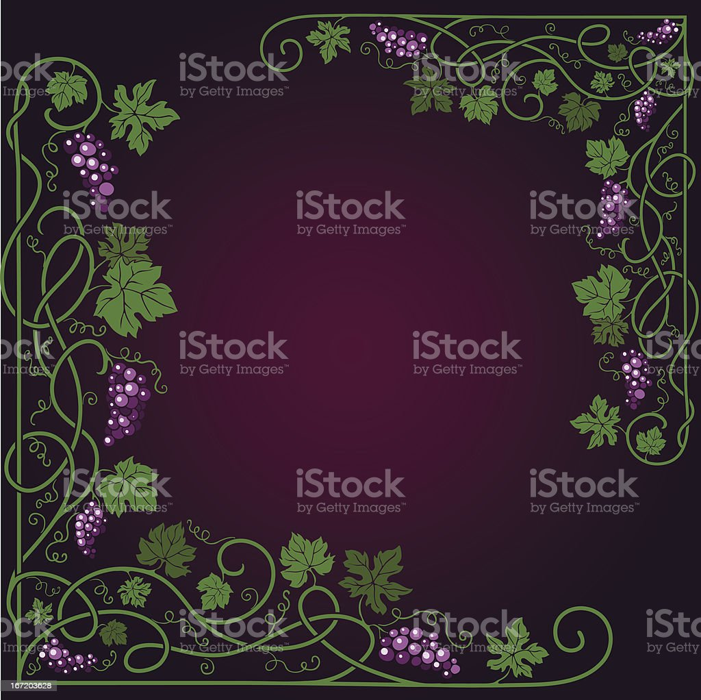 Colored decorative frame royalty-free stock vector art