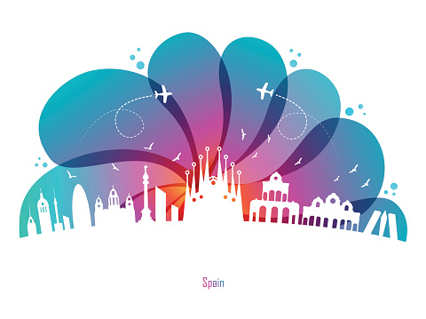 Colored Drops and Spain