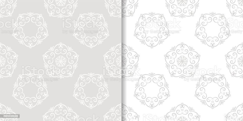 Colored flower pattern. Seamless background Lizenzfreies colored flower pattern seamless background stock vektor art und mehr bilder von abstrakt