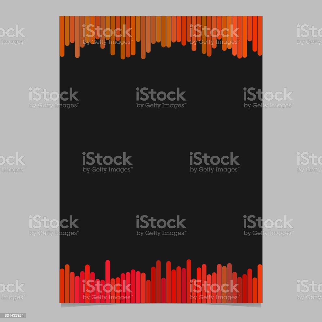 Ilustración de Folleto Color Plantilla De Folleto Diseño De ...