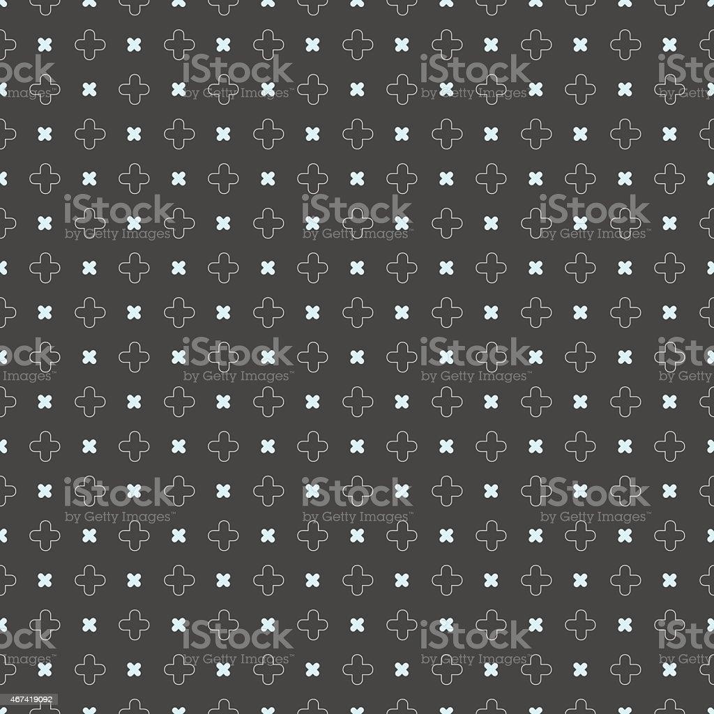 Couleur Gris Bleu Foncé motif géométrique de couleur bleu avec des formes sur gris