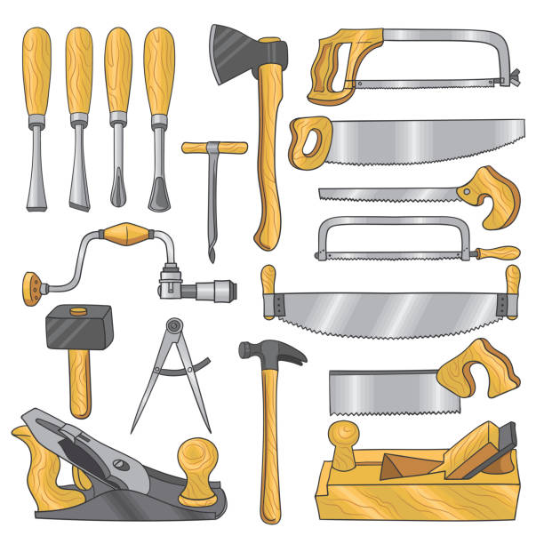 Best Hammer Chisel Illustrations, Royalty-Free Vector ...