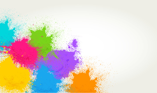 Colored Powder Background