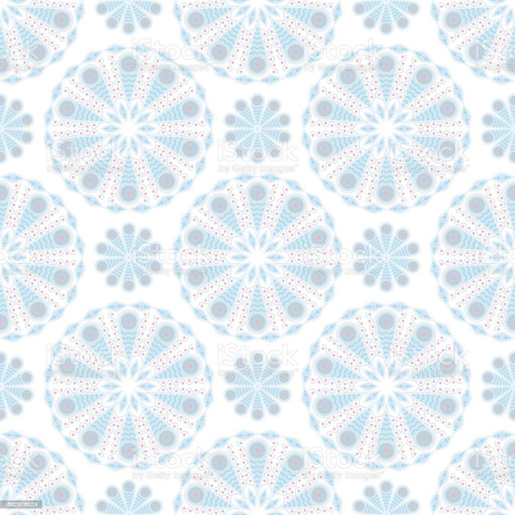 Colored seamless background. Floral pattern colored seamless background floral pattern — стоковая векторная графика и другие изображения на тему Абстрактный Стоковая фотография
