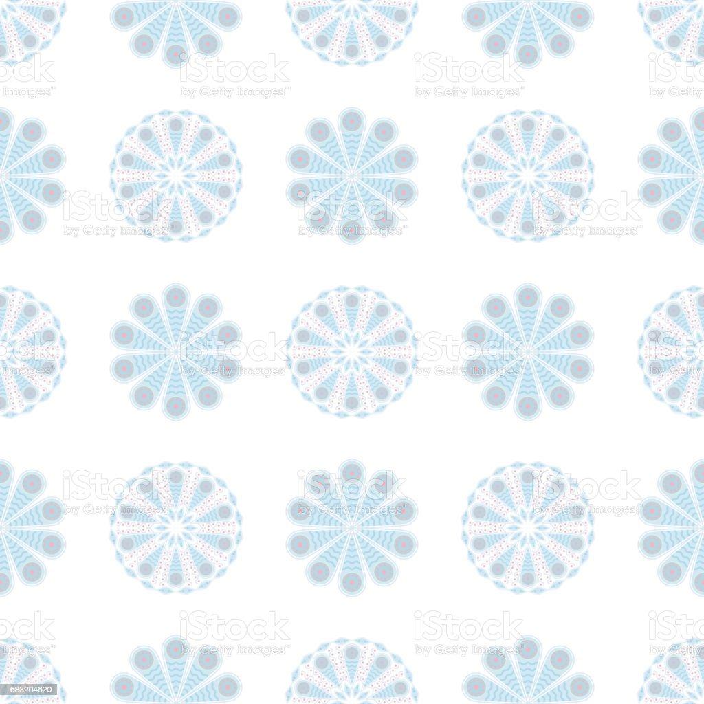 Colored seamless background. Floral pattern Lizenzfreies colored seamless background floral pattern stock vektor art und mehr bilder von abstrakt