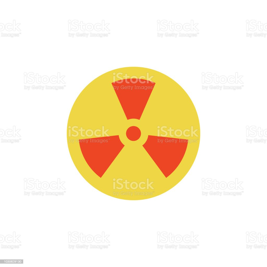 Colored Sign Of Radiation Icon Element Of Science And Laboratory For