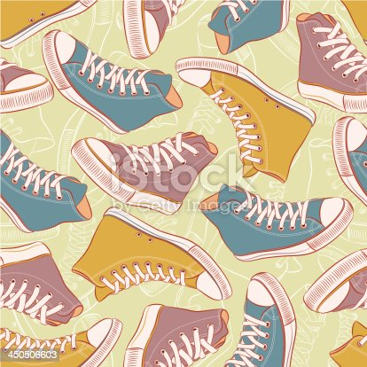 istock colored sneakers 450506603