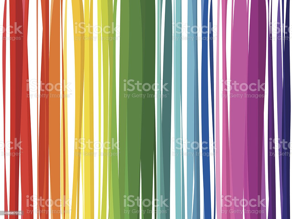 colored stripes vector art illustration