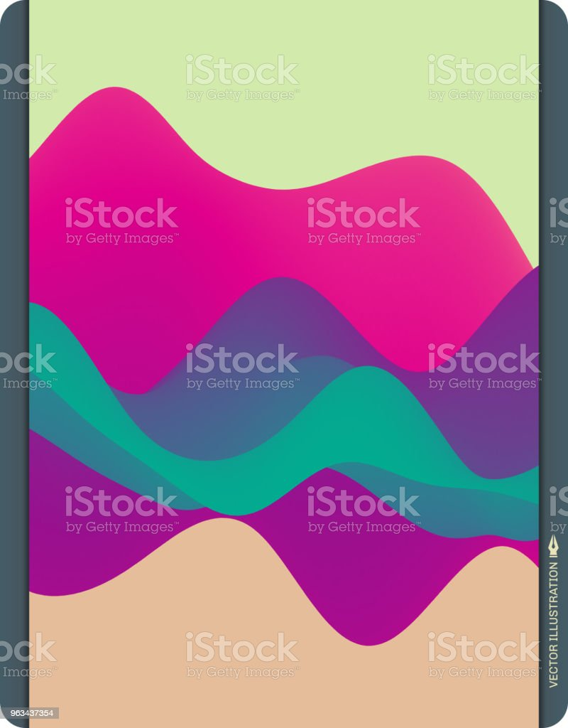 Colorful abstract background. Dynamic effect. Futuristic technology style. Motion vector illustration. - Grafika wektorowa royalty-free (Abstrakcja)