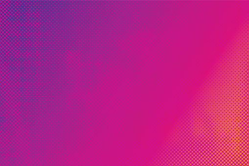 Colorful Abstract Background Halftone Pattern — стоковая векторная графика и другие изображения на тему Абстрактный