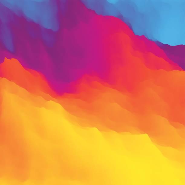 ilustraciones, imágenes clip art, dibujos animados e iconos de stock de colorido fondo abstracto. plantilla de diseño multicolor. - fondos coloridos