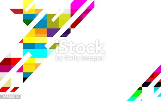 Color Abstract Vector Background Text Frame Stock Vector: Colorful Abstract Background Vector Design For Business