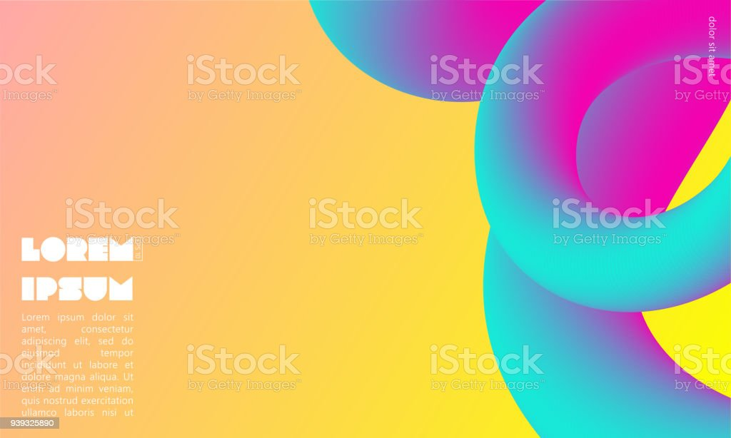 Colorful Abstract Background With Place For Text Abstract Blending ...