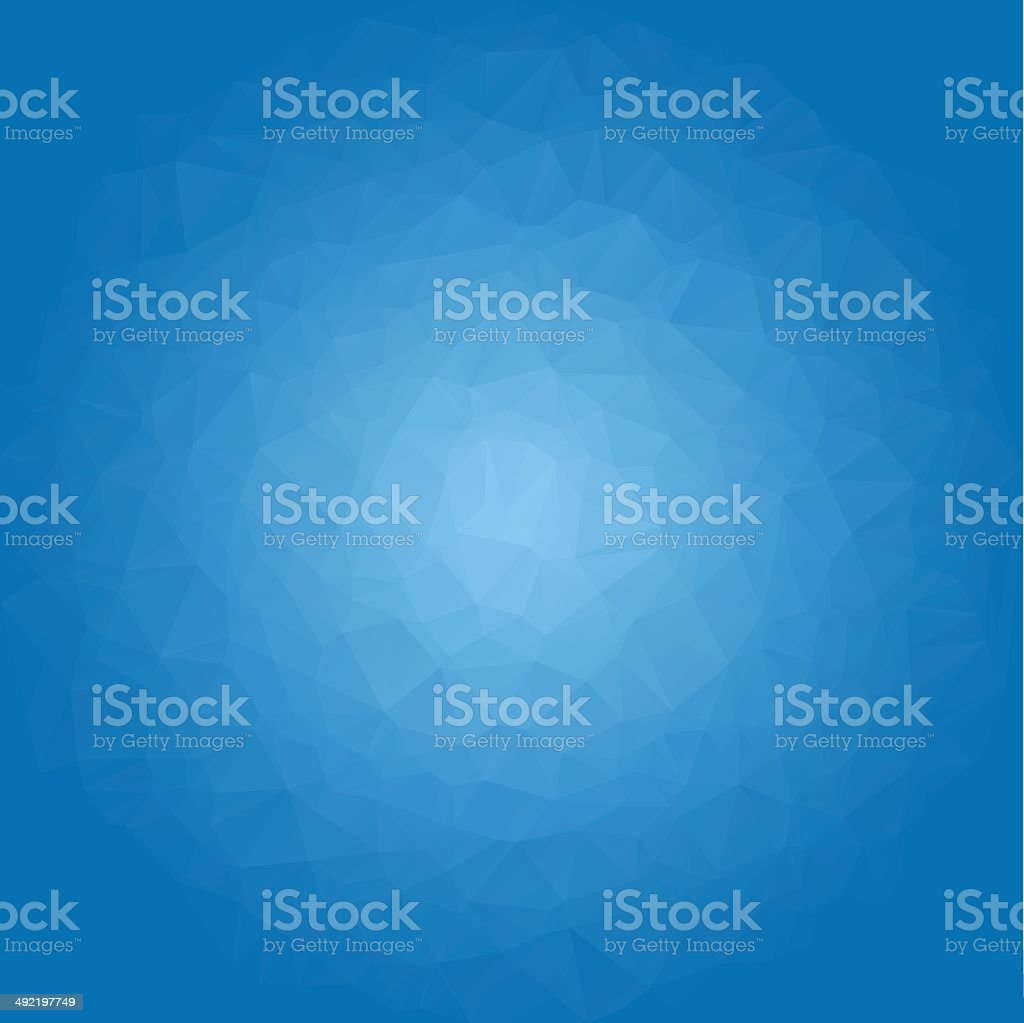 Colorful abstract blue background vector art illustration