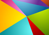 Colorful abstract corporate polygonal background. Vector design