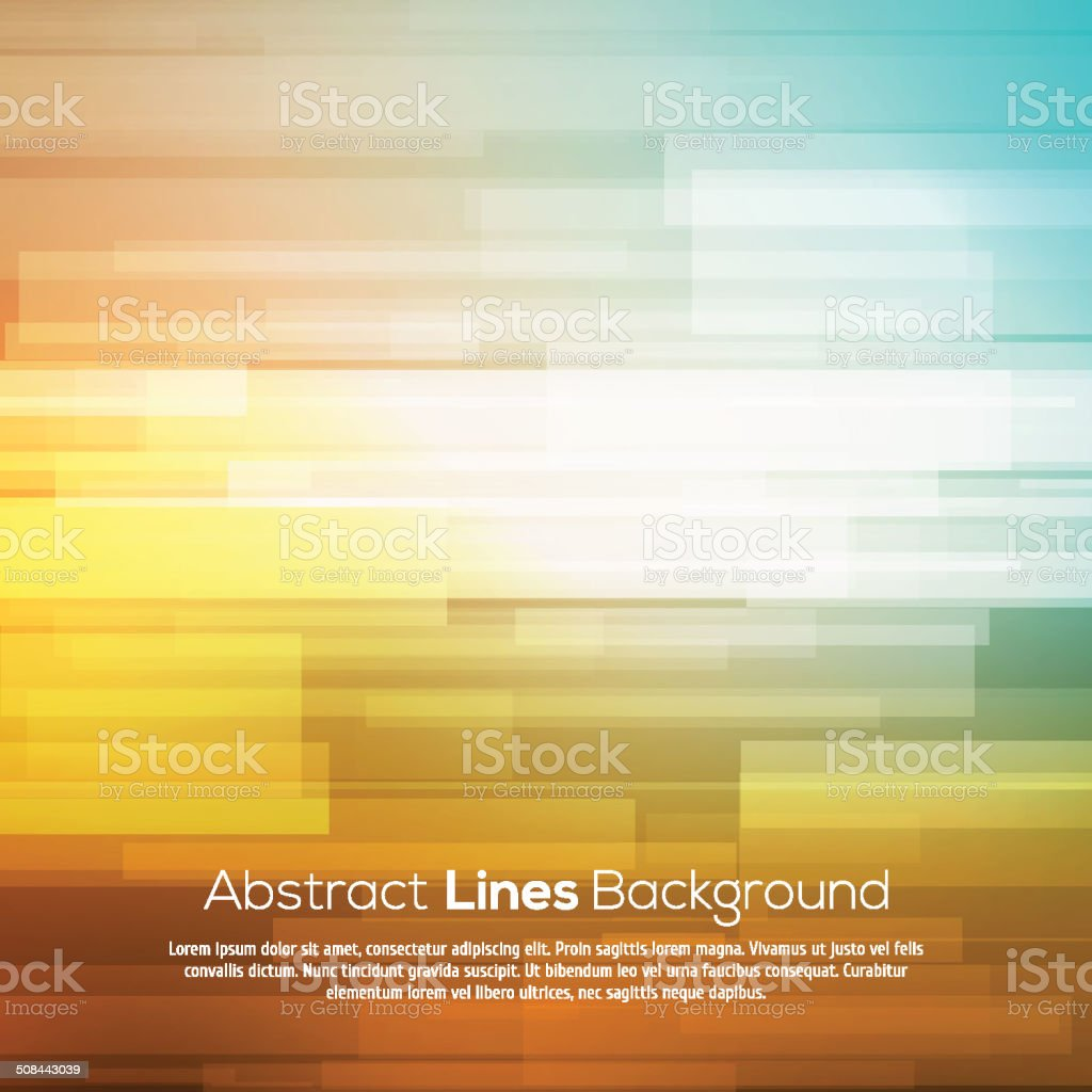 Colorful abstract lines business vector background. vector art illustration