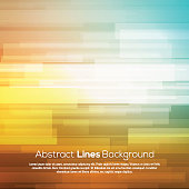 Colorful abstract lines business vector background.