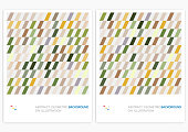 colorful abstract minimalistic geometric stripe pattern background collection