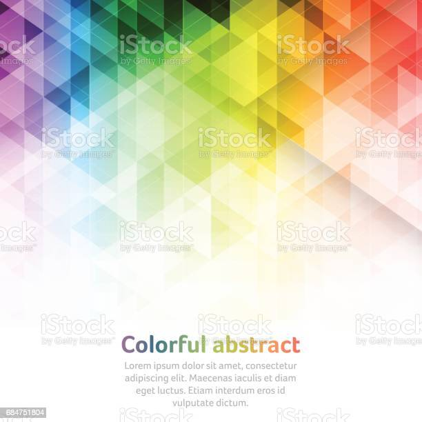 Colorful abstract vector background with triangular geometric pattern vector id684751804?b=1&k=6&m=684751804&s=612x612&h=4tufgqnwcd0ezhchxcd5iusic250s ttbyxcquh09vm=