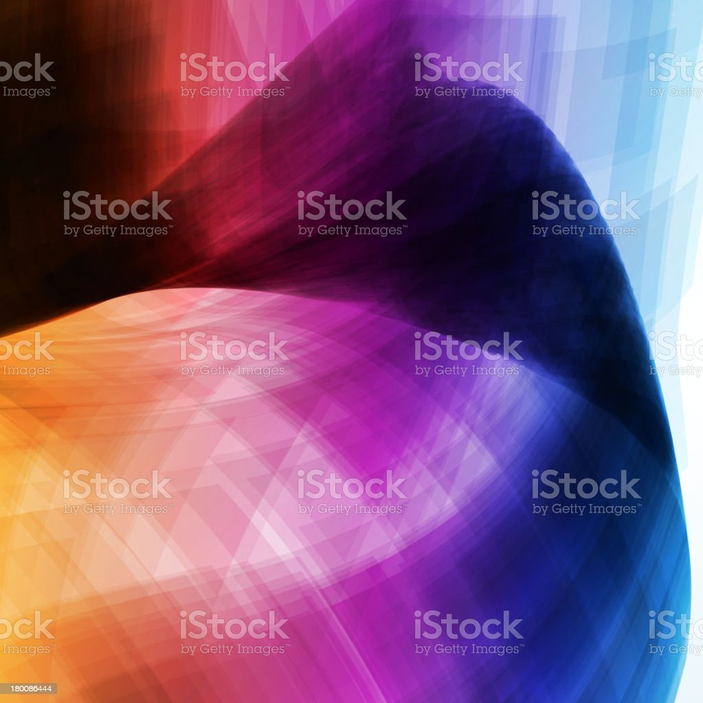 Colorful abstract royalty-free stock vector art