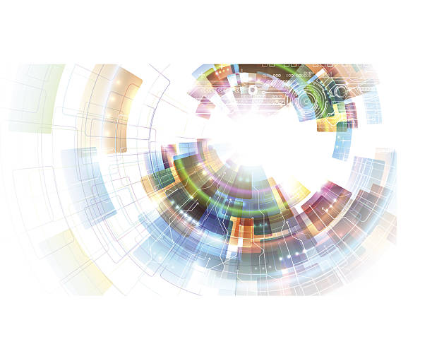 Colorful abstraction. EPS10. focus stock illustrations