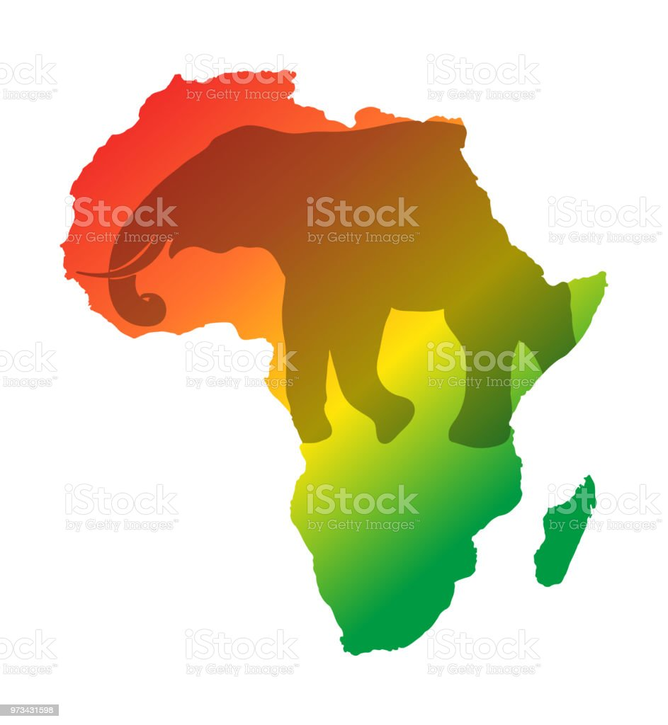 Colorful africa map isolated on transparent background world vector colorful africa map isolated on transparent background world vector illustration without text royalty free gumiabroncs Choice Image