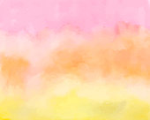 Colorful and mixed color gradient watercolor background illustration