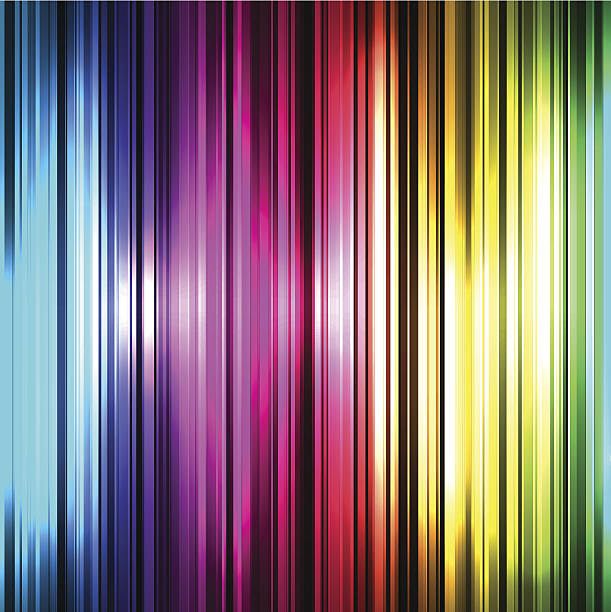 colorful and shiny stripes background. - rainbow glitter background stock illustrations, clip art, cartoons, & icons