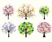 6 original trees