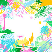 Colorful artistic creative background